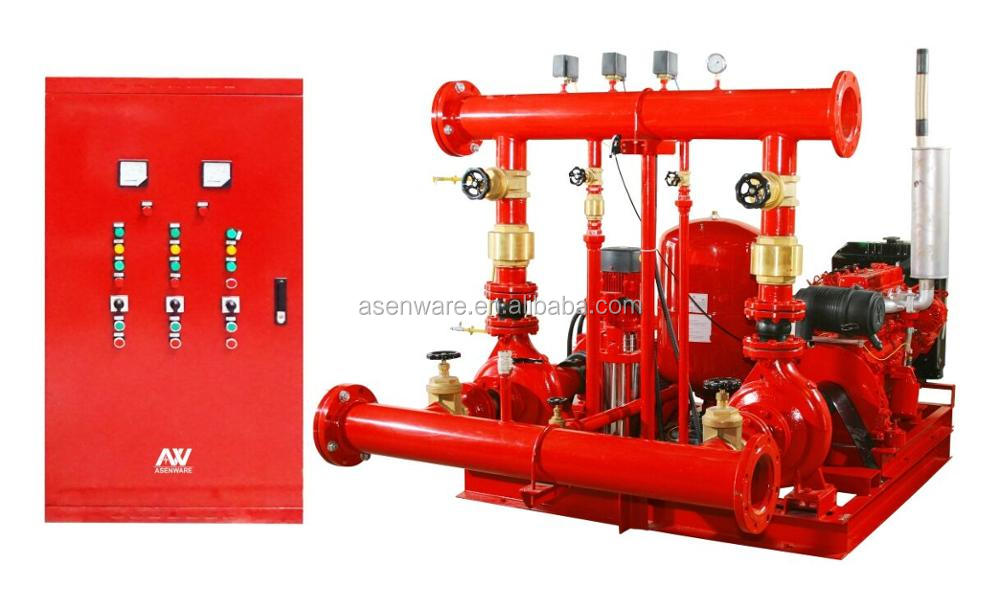 Pricelist diesel engine fire pump series for warehouse ships