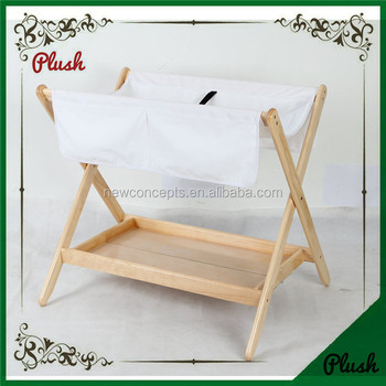 Folding Wood Baby Diaper Changing Table Station
