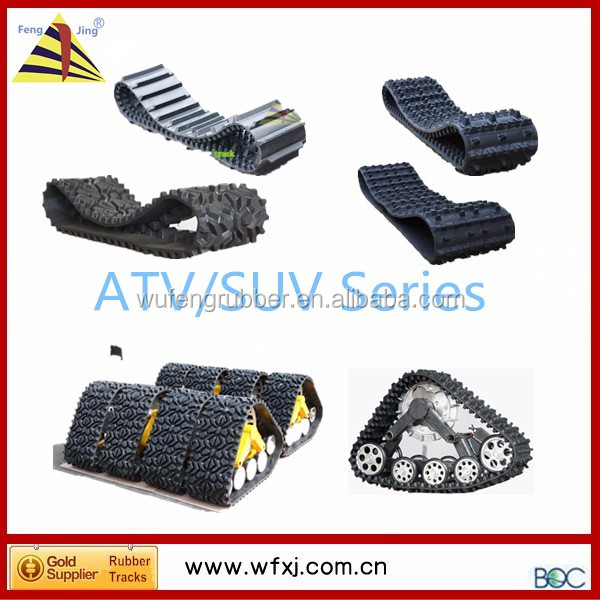 Chinese Atv/suv Parts 4x4 Rubber Trake Conversion System Kits ...