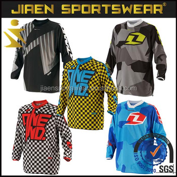 100% Polyester cheap sublimation printing custom mountain bike jersey  wholesale with factory price 1f50d2e19
