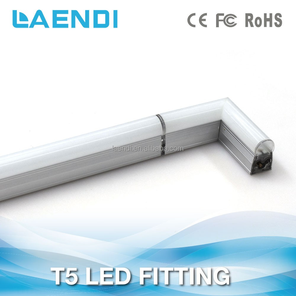 Cheapest price mini lovely t5 light fixtures without dark area t5 led light tube with isolated driver