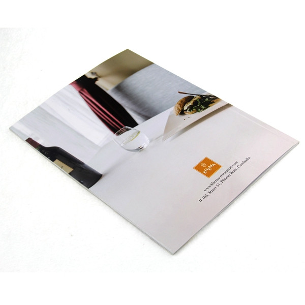 Cheap custom coloring food photo book printing