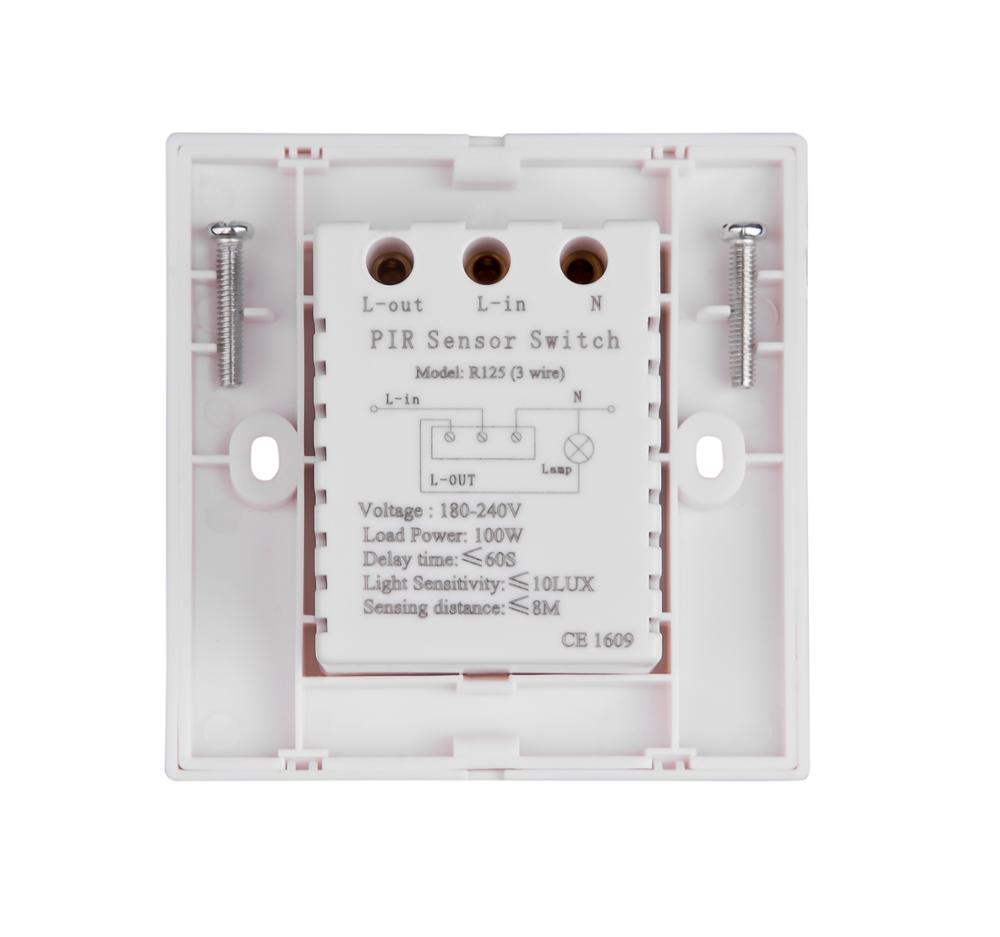 Motion Sensor Light Switch Wiring Diagram Motion Detector Sensor