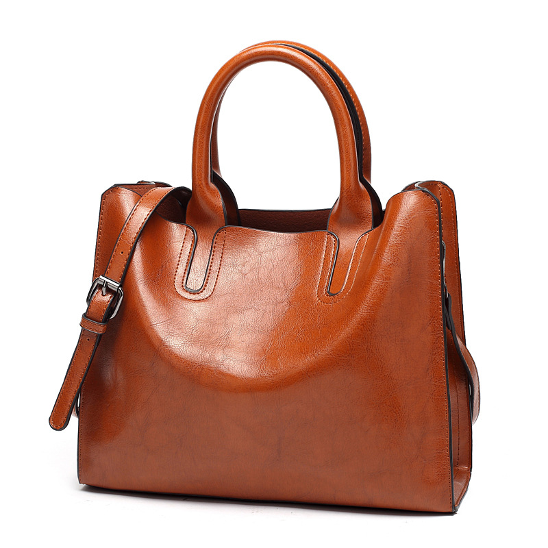 ANGEDANLIA elegant pu leather tote online for school-2