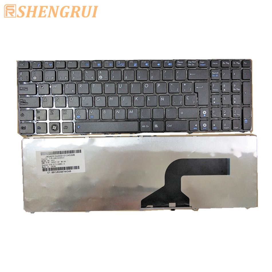 AER15U00310 Brand new replacement fora sus k52 laptop keyboard with SP layout
