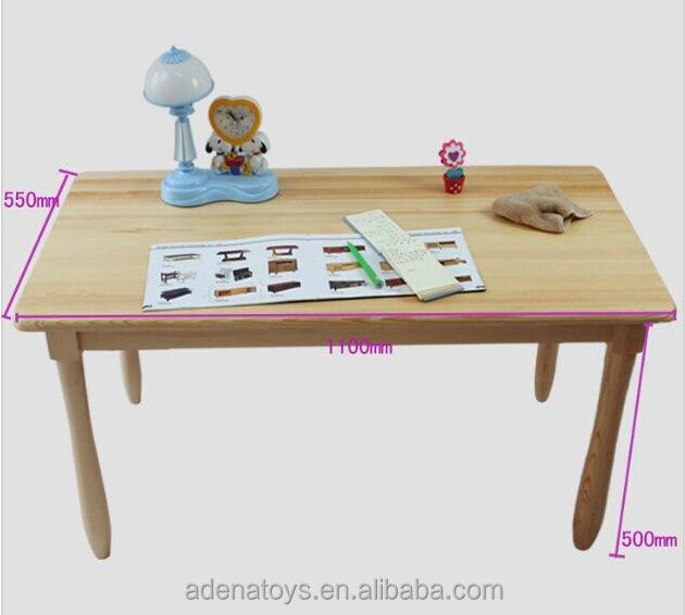 700mm Kids Writing Table Montessori Furniture Solid