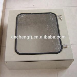 Outdoor carbon steel IP56 Electrical Floor Standing Cabinet / Switch Box / Cable Distribution Box