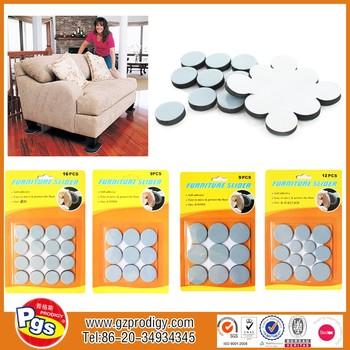 Nice Adhesive Furniture Foot Plastic Furniture Foot Pad/moving Men Sliders /  Teflon Furniture Sliding Pads
