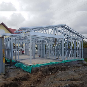 Short-time installation anti-corrosion light steel structure villa house