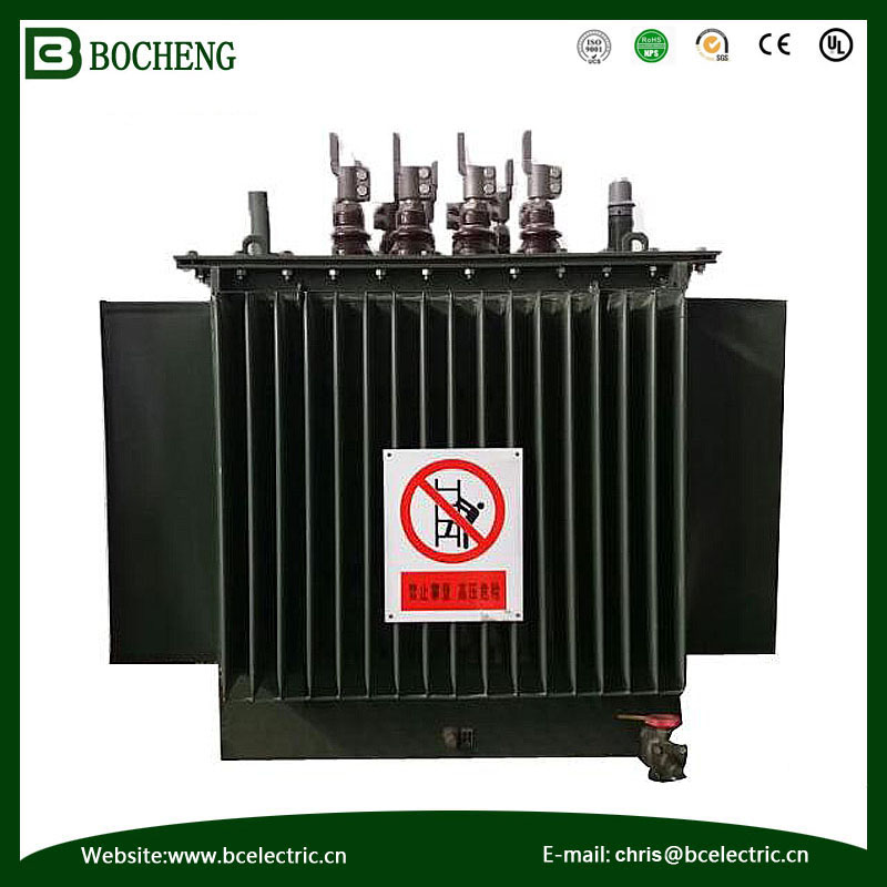 customer winding coil structure three phrase and power usage power transformer S11 oill type 11KV 250KVA