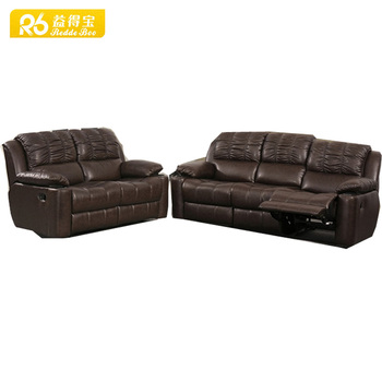 china furniture stores hot sale 3+2+1 soft line leather sofas