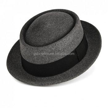 Hot Sale Mountain Man Felt Hat Trilby Hat 2db90cab6f7