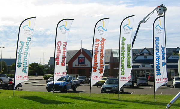 Hot Sale Custom Design Advertising Outdoor Feather Banner Car - Car show flags