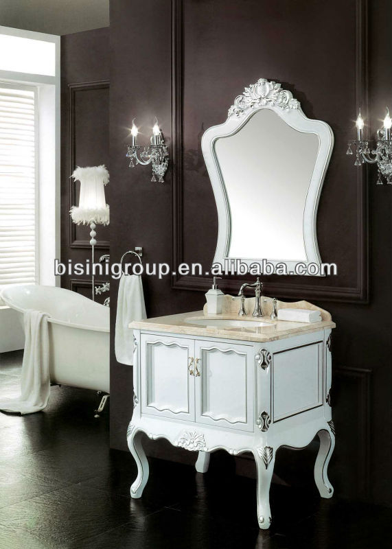 New French Style Vanity Units Mirror Cabinet,Quality Bathroom Vanity With  Marble Top,Classic Wood Bath Cabinet(bf08 4131)   Buy French Style Vanity  Units ...