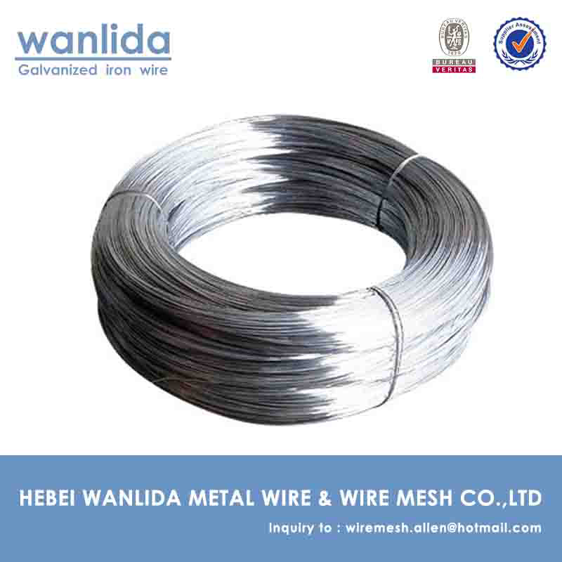 low price galvanized tie wire //electric galvanized iron wire supplier //Electro galvanized iron wire from anping