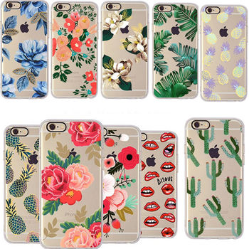 Shockproof Rubber Soft TPU Silicone Phone Case Cover For Apple iPhone 6S Plus 6 7 7 Plus 8
