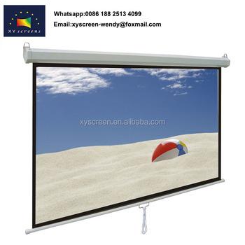 4 3 16 9 Retractable Roll Up Green Screen Fog