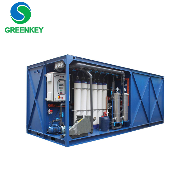 Integrated printing and dyeing Wastewater treatment plant underground packaged sewage treatment device
