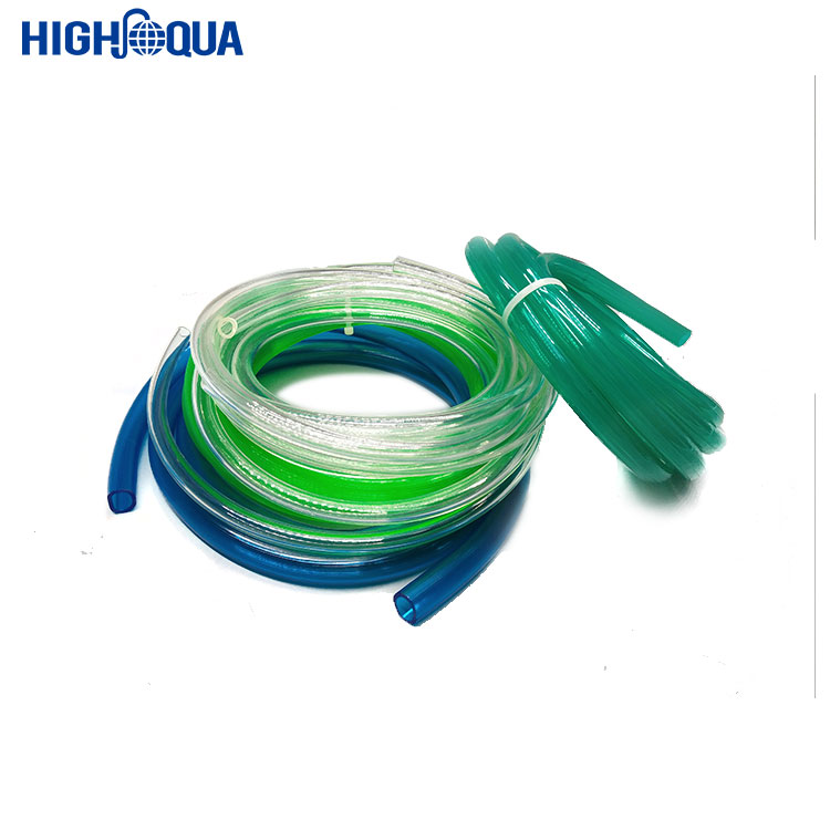 Colorful Plastic Tube Soft Pure Extrude 3 4 pvc tubing