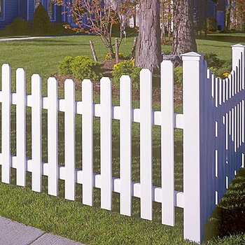 Plastic Garden Fence Panels With Different Colors Options