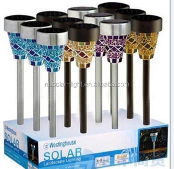 Stained Glass Solar Lights,Soalr Low Voltage Landscape Lighting ...