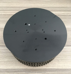 High power 100W cold forged led heat sink for cxb3590