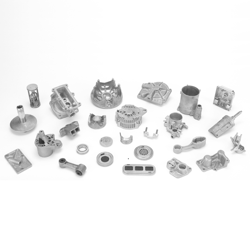 Small zinc die casting components for various industries