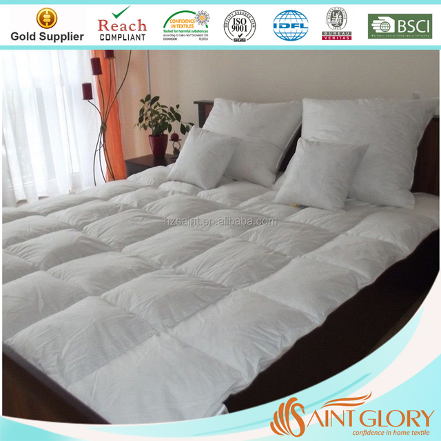 China down proof cotton fabric. products below. Luxury White Goose Feather   amp  Down Duvet Quilt - 13.5 Tog Double Size - 100 995dda0ee