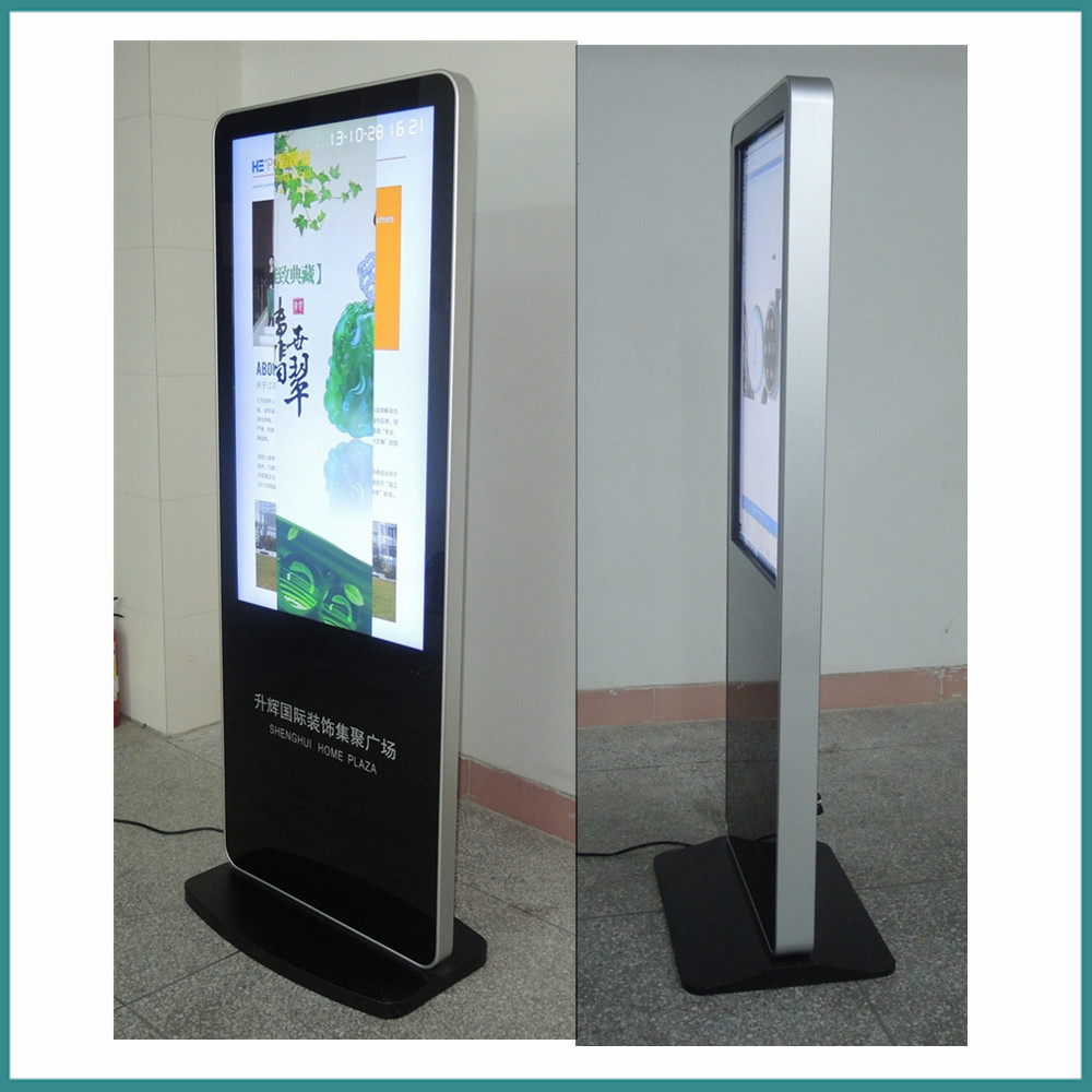 Exhibition Stand With Monitor : Inch touch screen kiosk totem lcd display free stand