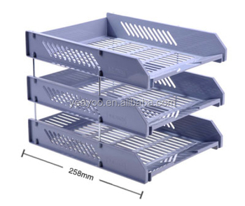 Office Supplies File Holder PP A4 Paper Tray With Good Quality