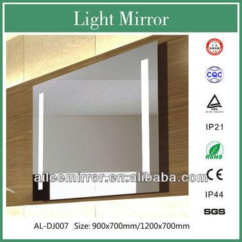 2013 High Quality Led Bathroom Mirror With Blue Light Hotel ...