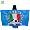 3x5ft Custom Fan Polyester Body Cape Italy Flags