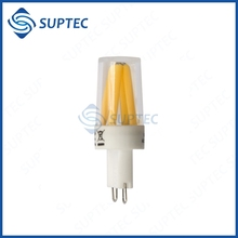 China Suppliers 2016 New Products 2W 2700K 200LM Dimmable LED Filament Bulb G9 Stiftsockel
