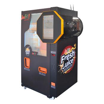 Fresh Orange Juice Squeezing Vending Machine Business ...