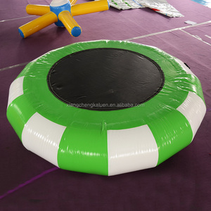 Custom cheap inflatable water trampoline