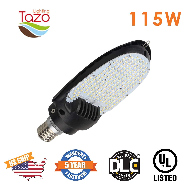 TAZO LIGHTING 115W LED Retrofit Kit 5000K 14900 Lumen(400W Metal Halide Eq), 180° Commercial Led Bulb for Parking Lot Wall Pack Street Flood Lighting Fixtures