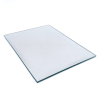 Square hypotenuse 6mm float glass silver wall mounted entrance mirror for bathroom