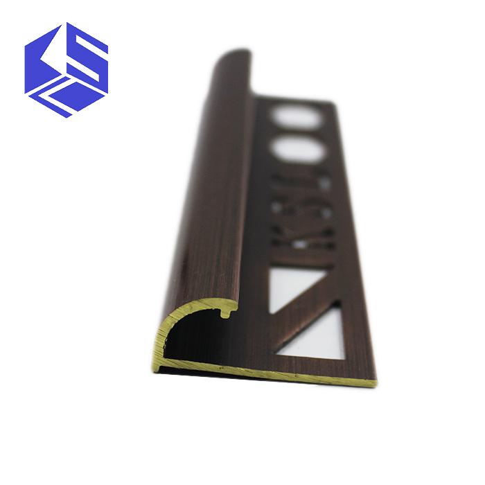 Resistant A La Corrosion Durable En Laiton Quart Rond Coin Garniture