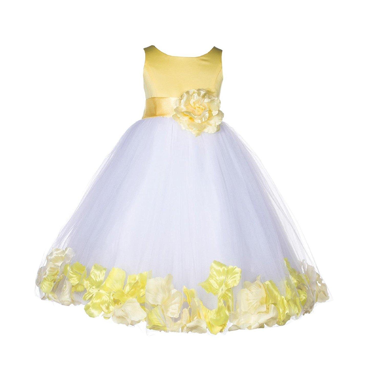 c9e62ce0afe Get Quotations · ekidsbridal Rose Petals Flower Girl Dresses Toddler Girl  Dresses Graduation Dress Formal Dresses 167S