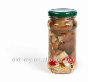 580ml cook canned mixed mushrooms in glass jars