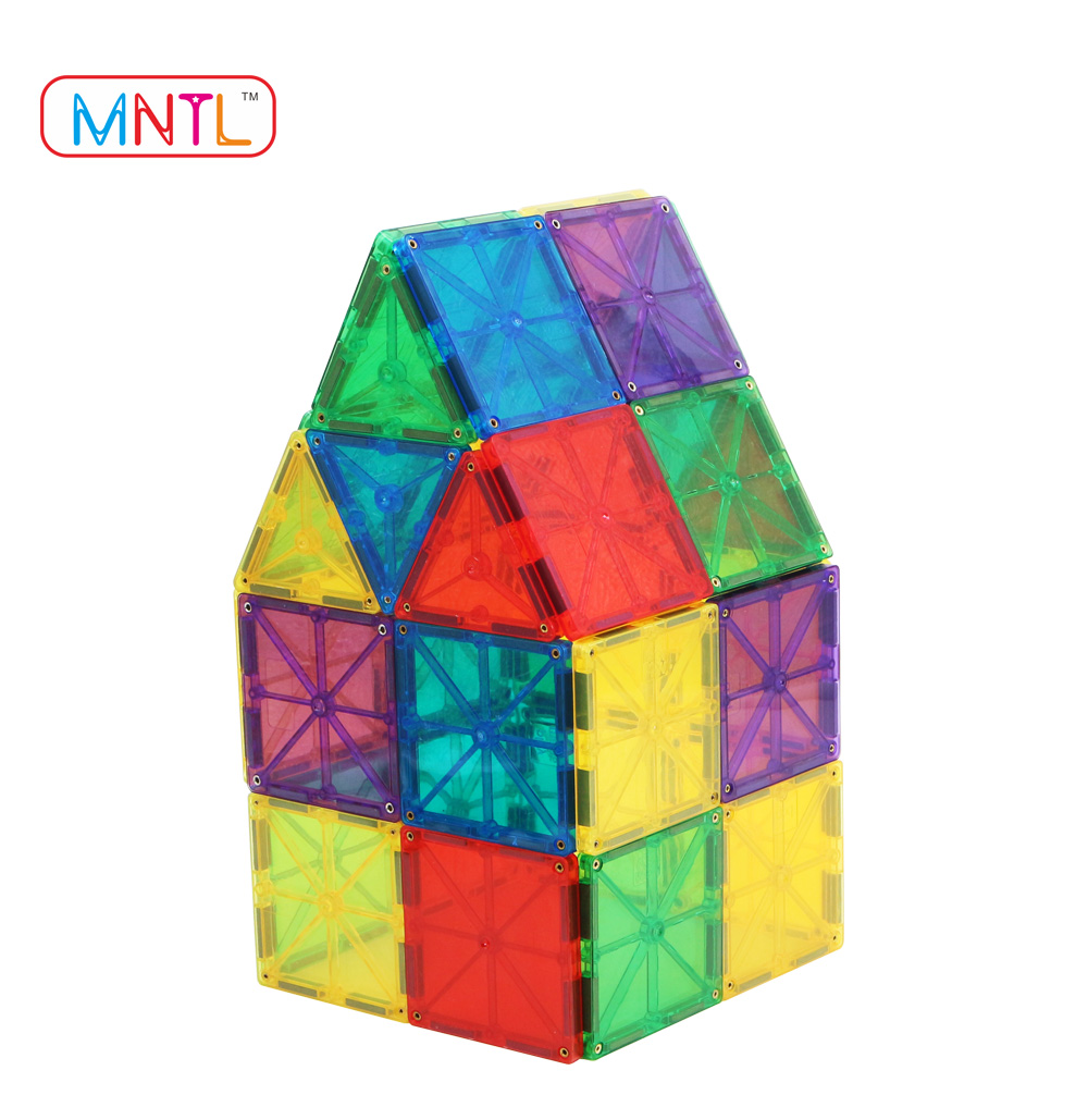 MNTL New Design Gift Toy/3D Intelligent Connecting Building Blocks/Magnetic Tiles