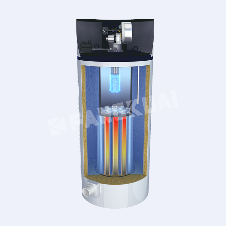 Made in China industrial fire tube  vertical boiler factory price for sale
