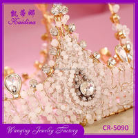 Latest product different patterns pageant tiara