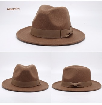 classic summer vintage best stetson wool felt wide brim cuban fedora hats  for women and men 4e4b22240d2