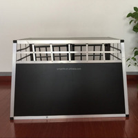 aluminum Vehicle pet dog cage