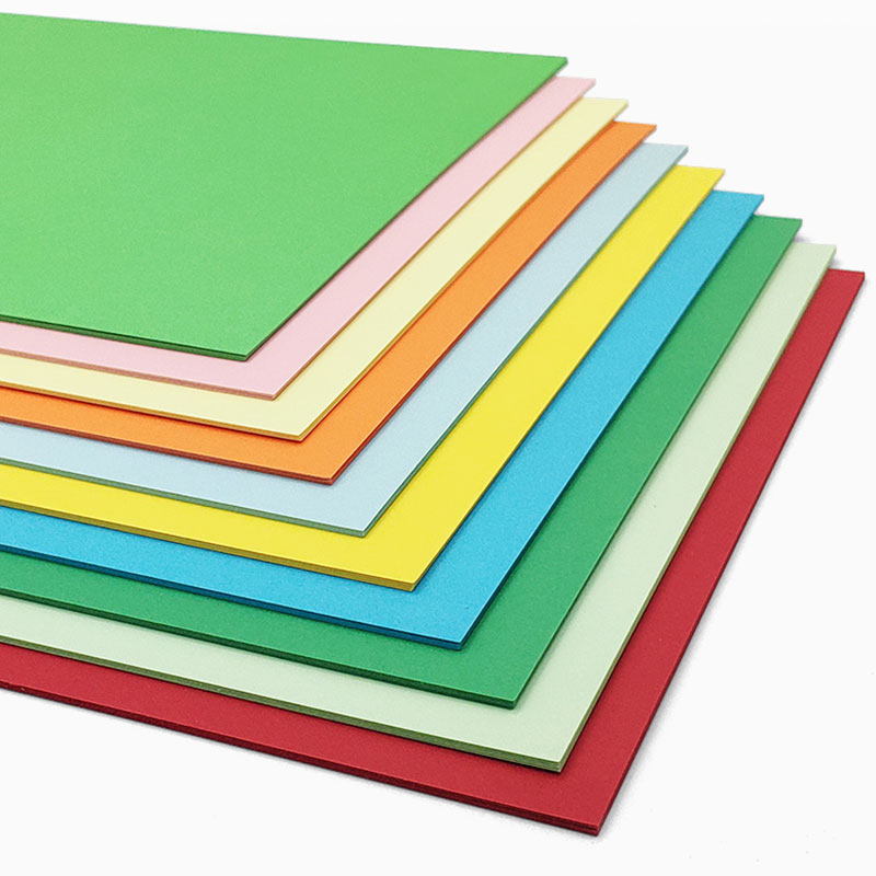 Wholesale Hight Quality Color Cardboard 120gsm 160gsm 180gsm 230gsm 300gsm A4 Cardstock Paper