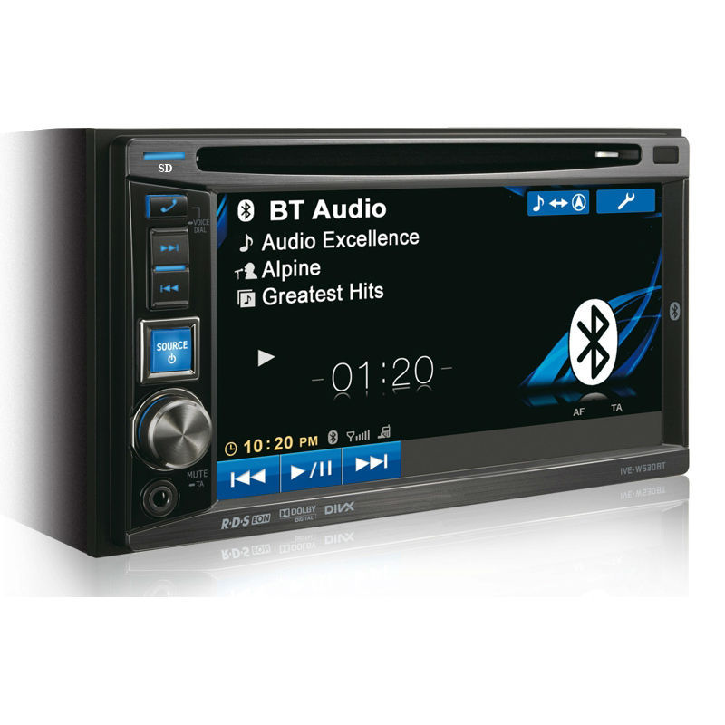 Touch Screen 2 Din Car Stereo DVD CD Player Car Radio