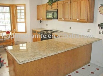 Kashmir Yellow Granite Countertop