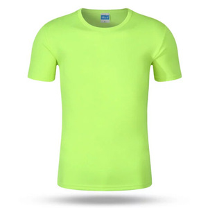 Wholesale mens outdoor gym sport blank plain dry fit t shirt
