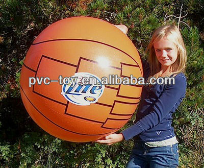 "36"" ADS 1 Color MILLER LITE / FINAL FOUR Basketball Beach Ball"